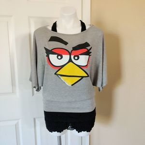 Angry Birds batwing sleeve with tank